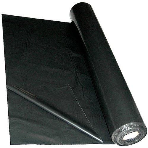 Landscaping Black Plastic Sheeting : Black heavy duty polythene plastic rolls box it limited